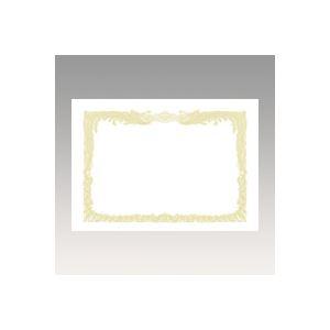 (業務用セット) OA賞状用紙 白上質賞状用紙・縦書き 10-1080 10枚入 【×5セット】 h01