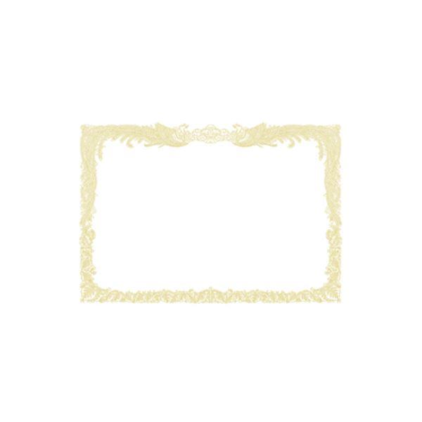(業務用セット) OA賞状用紙 白上質賞状用紙・縦書き 10-1160 100枚入 【×2セット】f00