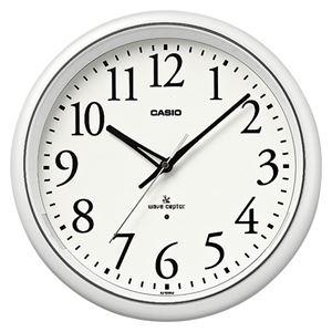 (業務用セット) カシオ 掛時計 (電波時計) IQ-1050NJ-7JF 1個入 【×2セット】 - 拡大画像