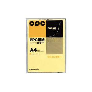 (業務用セット) 文運堂 ファインカラーPPC A4判 カラー332 クリーム 100枚入 【×10セット】 h01