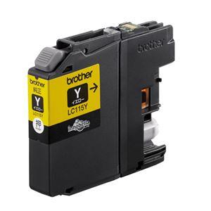 (業務用セット) ブラザー インクジェットカートリッジ LC115Y イエロー大容量 1個入 【×2セット】 h01