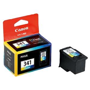(業務用セット) キヤノン Canon インクジェットカートリッジ BC-341 3色カラー 1個入 【×2セット】 h01