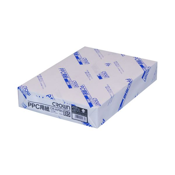 (業務用セット) PPC用紙 CR-KPB5-W 500枚×5冊入 【×3セット】f00