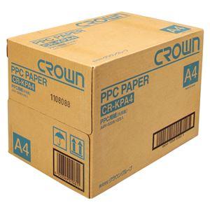 (業務用セット) PPC用紙 CR-KPA4-W 500枚×5冊入 【×3セット】 - 拡大画像