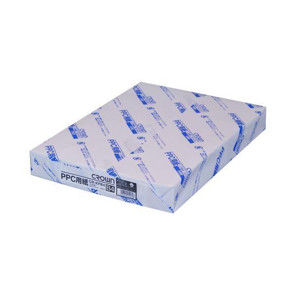 (業務用セット) PPC用紙 CR-KPB4-W 500枚×5冊入 【×3セット】f00