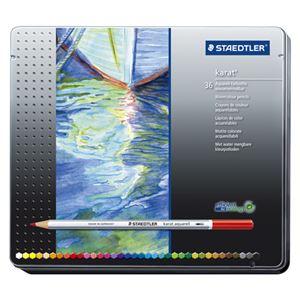 ステッドラ-日本カラトアクェレル水彩色鉛筆36色セット125M36