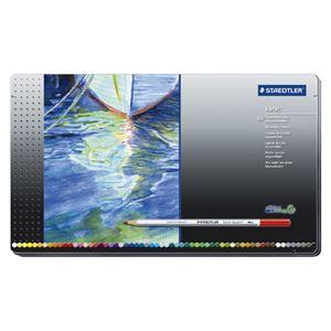 ステッドラ-日本 カラトアクェレル水彩色鉛筆 60色セット 125 M60