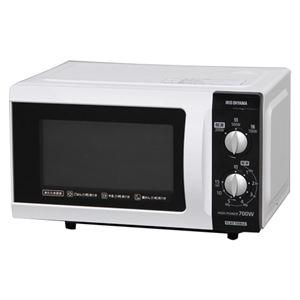 アイリスオーヤマ電子レンジ フラットテーブル 50Hz用 ホワイト IMB-F181-5