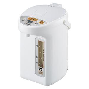 象印フレスコ マイコン沸とうVE電気まほうびん 3L CV-TY30-WA