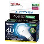 東芝ライテック LED電球 ミニクリプトン形 広配光タイプ 40W 昼白色 LDA4N-G-E17/S/40W