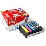 ジット リサイクルインクカートリッジ キヤノン互換 5色パック JIT-C3215P