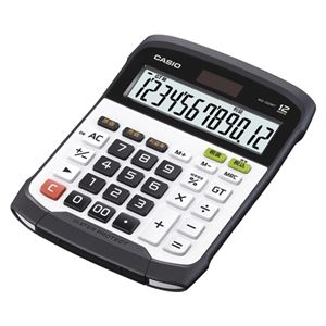 カシオ 防水電卓 デスクサイズ WD-320MT-N