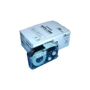 カシオ ネームランドテープ18mm 白 5巻入 XR-18WE-5P-E