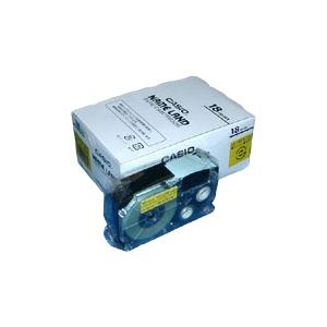 カシオ ネームランドテープ18mm 黄 5巻入 XR-18YW-5P-E