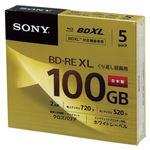 SONY 録画用 BD-RE 3層式 2倍速 100GB 5枚パック 5BNE3VCPS2