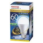 東芝 LED電球 一般電球形 810lm 調光器対応 昼白色 LDA8N-G-K/D/60W
