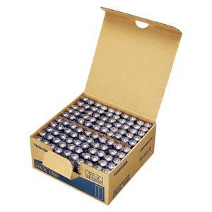 東芝 アルカリ乾電池 単4形 100本パック LR03L 100P