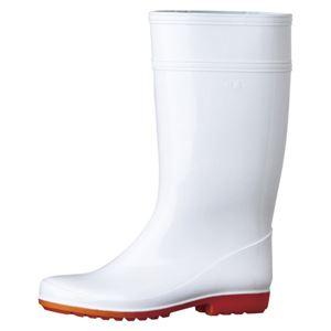 ミドリ安全 長靴 W2000 ホワイト 25.0cm W2000ホワイト25