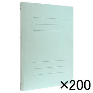 ナカバヤシ フラットファイルEJ A4 ブルー 200冊入 フF-EJ80BX200