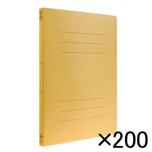 ナカバヤシ フラットファイルEJ A4 イエロー 200冊入 フF-EJ80YX200