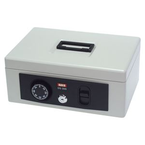 ダイト 手提金庫 DS-300 グレーホワイト DS-300