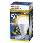 東芝 LED電球 一般電球形 640lm 調光器対応 電球色 LDA8L-G-K/D/50W
