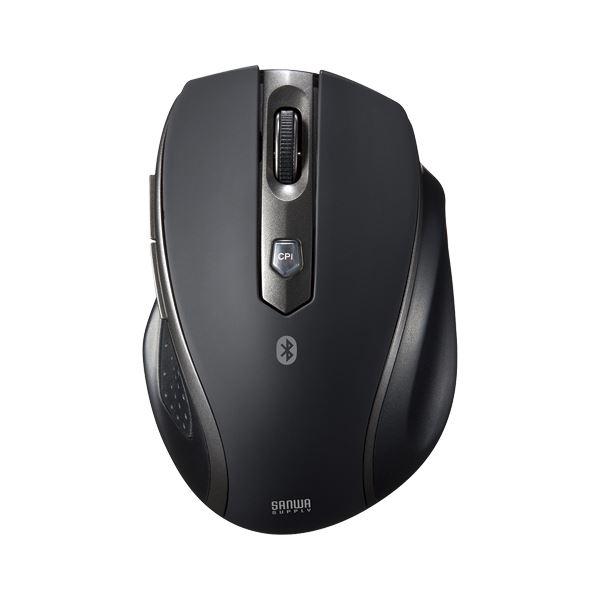 サンワサプライ Bluetooth3.0 ブルーLED静音マウス ブラック MA-BTBL28BK