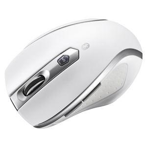 サンワサプライ Bluetooth3.0 ブルーLED静音マウス ホワイト MA-BTBL28W