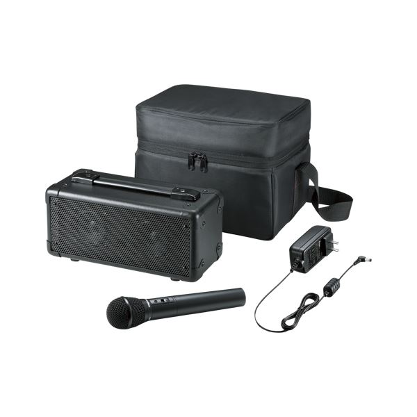 サンワサプライ ワイヤレスマイク付き拡声器スピーカー MM-SPAMP4