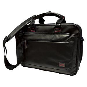コクホー 多用途カジュアルビジネスバッグ 黒 DR-BB041-B