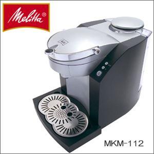 Melitta(メリタ) コーヒー ポッドマシーン MKM-112-B ブラック - 拡大画像