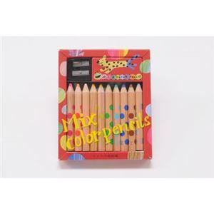 コクヨS&T KE-AC1 ミックス色鉛筆10本 【知育玩具】