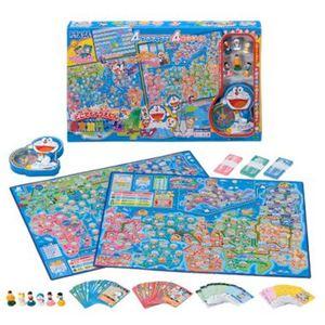 エポック社 どこでもドラえもん 日本旅行ゲーム 4マップ - 拡大画像