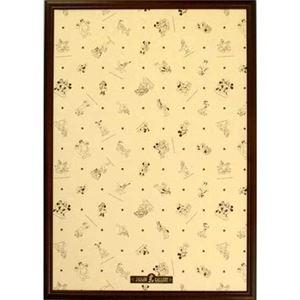 テンヨー ディズニー専用木製パネル 1000P ブラウン 【ジグソーパズル】 - 拡大画像