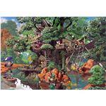 テンヨー D-1000-369 ふしぎの森のツリーハウス 1000P 【ジグソーパズル】