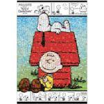 ビバリー 31-367 モザイク スヌーピーとチャーリー・ブラウン 1000P 【ジグソーパズル】