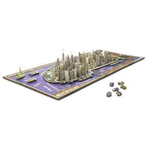 やのまん 77-047 4D CITY SCAPE TIME PUZZLE ニューヨーク 700P 【ジグソーパズル】 - 拡大画像