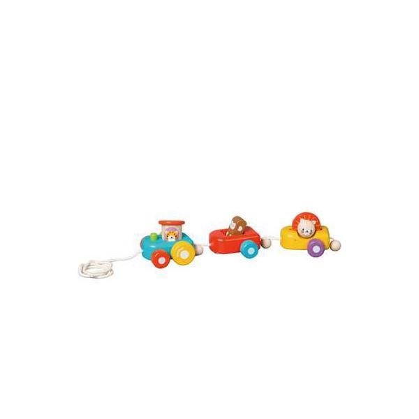 カワダ 5131 ハッピートレイン 【知育玩具】f00