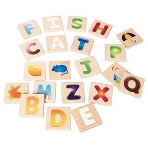 カワダ 5637 アルファベットA-Z 【知育玩具】 - 拡大画像