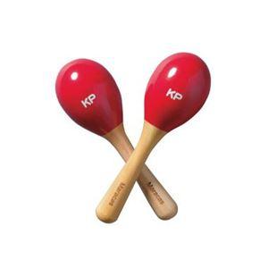 ナカノ KP-120/MM/REN ミニマラカス レッド 【つみき・木製玩具】