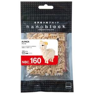 カワダ NBC_160 アルパカ nanoblock(ナノブロック)