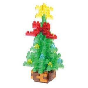 カワダ NBC_155 クリスマスツリー2015 nanoblock(ナノブロック) - 拡大画像
