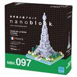 カワダ NBH_097 パリのセーヌ河岸 【nanoブロック】
