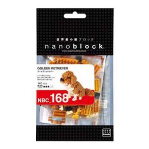 カワダNBC_168ゴールデンレトリバーnanoblock(ナノブロック)