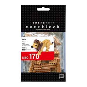 カワダ NBC_170 ライオン nanoblock(ナノブロック)