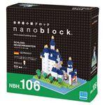 カワダ NBH_106 ノイシュバンシュタイン城 nanoblock(ナノブロック)