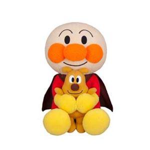 セガトイズ アンパンマン すきすきだっこぬいぐるみ アンパンマンとめいけんチーズぬいぐるみ - 拡大画像
