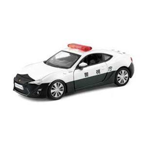 ジョーゼン JDC5011-WT トヨタ86ポリスカー 【プレイキャスト】