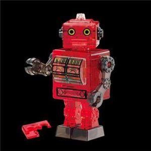 ビバリー 50202 ブリキ ロボット・レッド 【立体パズル】