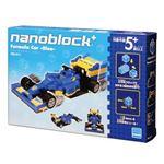 カワダ PBS-011 nanoblock+ フォーミュラカー ブルー 【知育玩具】